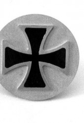 Iron Cross Torsion Bar Covers for 356 Porsches