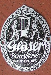 Replica Gläser Coachbuilder Badge